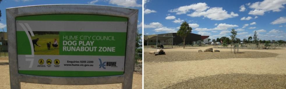 Runabout zone at Craigieburn Dog Park