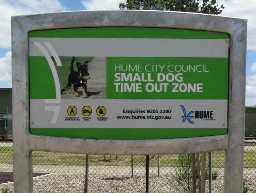 Small dog zone at Craigieburn Dog Park