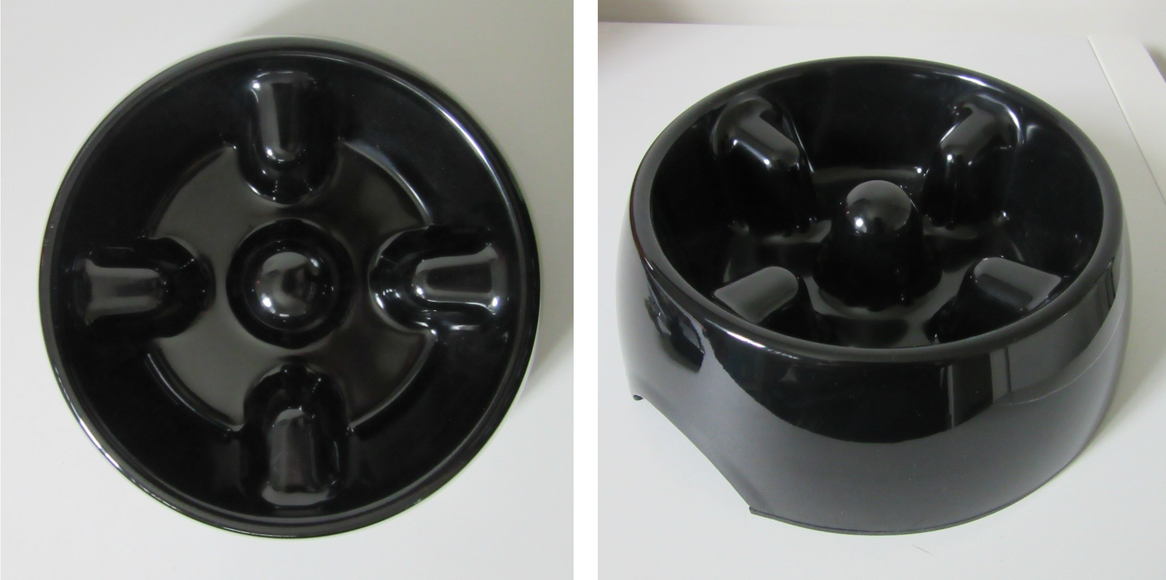 Short Snout Dog Food Bowl
