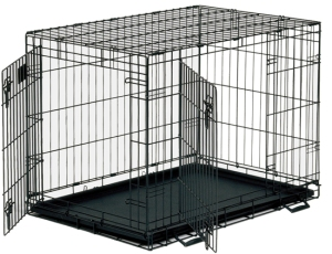 crate training your dog - wire crate